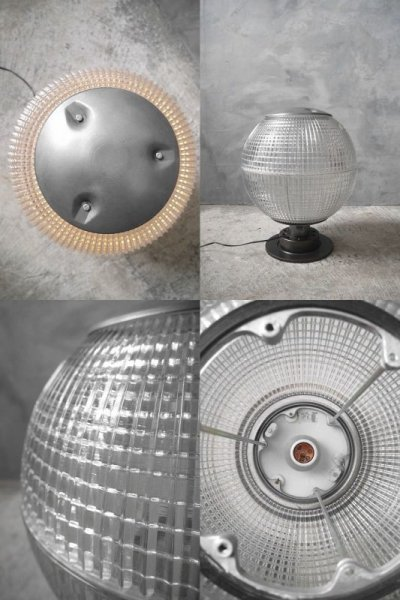 画像3: アンティーク Holophane 1灯 フロアランプ