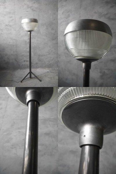 画像2: アンティーク Holophane 1灯 フロアランプ