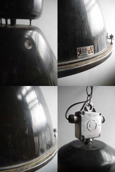 画像2: アンティーク インダストリアル 吊り下げランプ Lintz C
