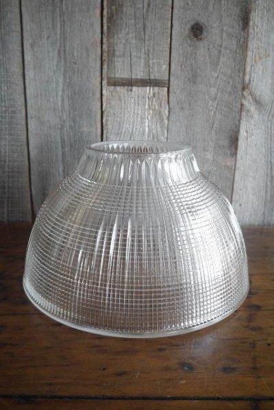 画像1: アンティーク HOLOPHANE社製 クリアガラスランプシェード 15