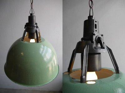 画像2: アンティーク Ukraine製 インダストリアル 吊り下げランプ D